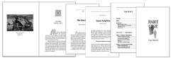 Professional Book Interior Formatting Pricing and Samples by Book designer Karrie Ross
