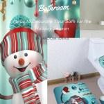How To Decorate A Bathroom For Christmas Season