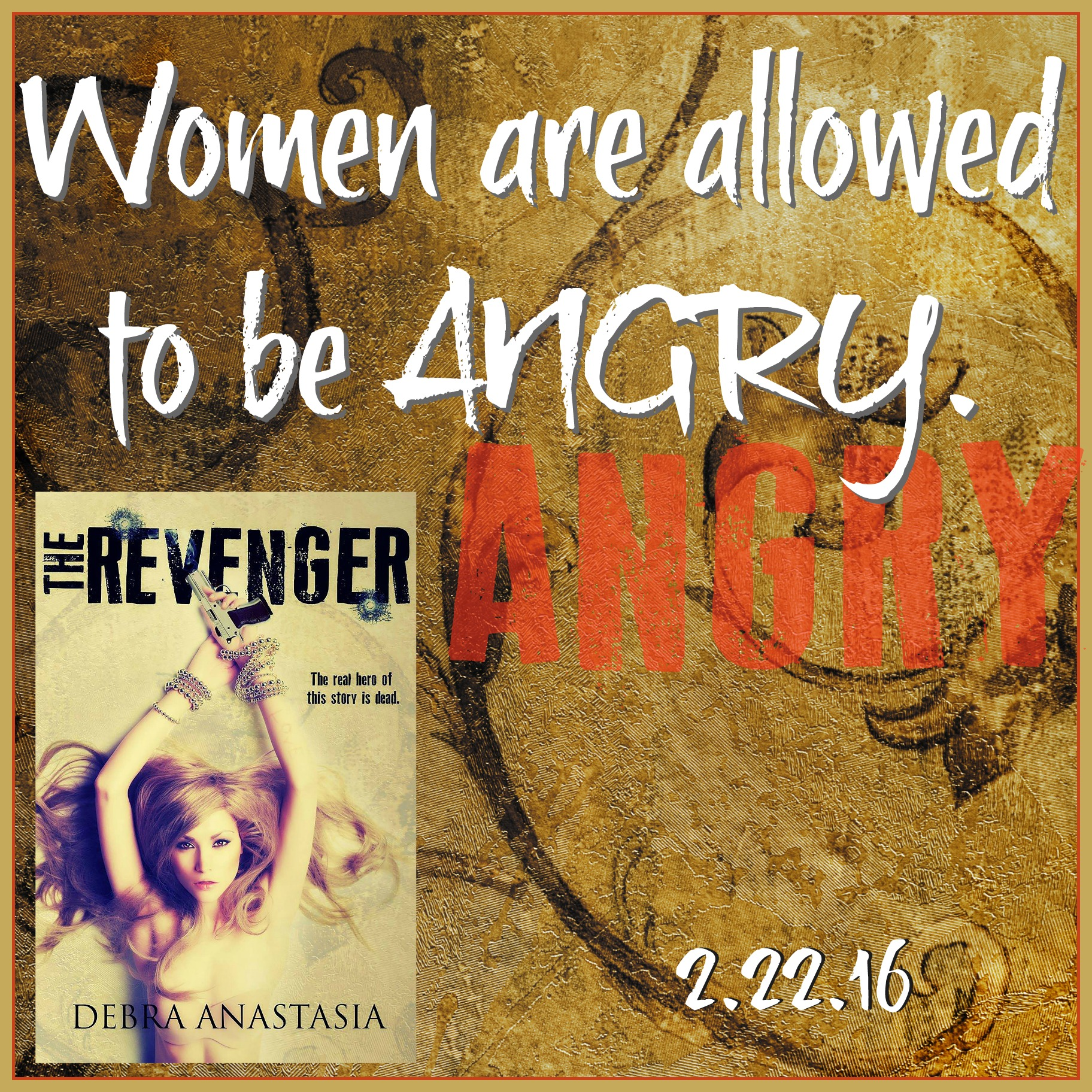Allowed to be angry Revenger Teaser