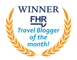 FHR Travel Blogger Badge | Book FHR