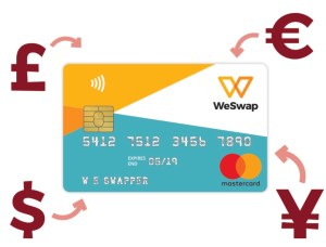 WeSwap Card | Book FHR Travel Blog