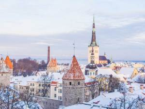 Tallinn Snow | Book FHR Travel Blog