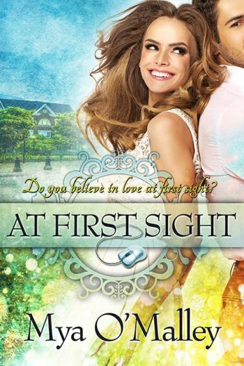 At First Sight book cover mya