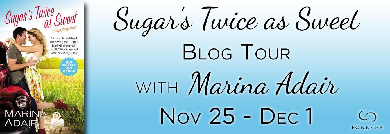 Giveaway Interview SUGAR'S TWICE AS SWEET Blog Tour With Marina Adair @MarinaEAdair @ForeverRomance