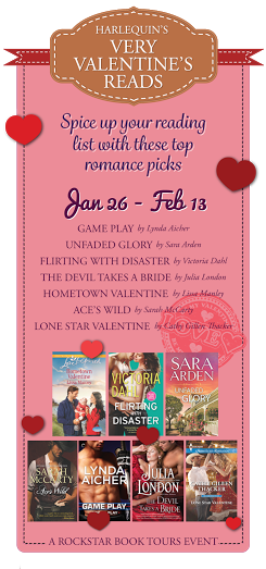 #Giveaway Harlequin's Very Valentine Tour with Lissa Manley Interview #Woof