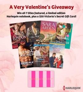 harlequin valentine giveaway