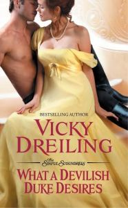 #Giveaway Review WHAT A DEVLISH DUKE DESIRES by VICKY DREILING @vickydreiling  @ForeverRomance