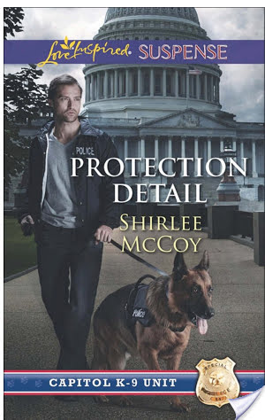 #Giveaway PROTECTION DETAIL by SHIRLEE McCOY @shirlee_mccoy @LoveInspiredBks