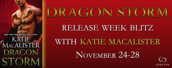#Giveaway Interview  Excerpt DRAGON STORM by Katie MacAlister @katiemacalister @ForeverRomance