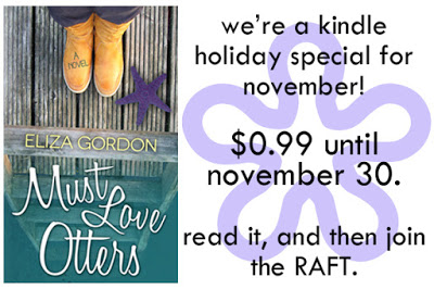 $25 #Giveaway MUST LOVE OTTERS by @eliza_gordon – On Sale!  99 cents 11.30
