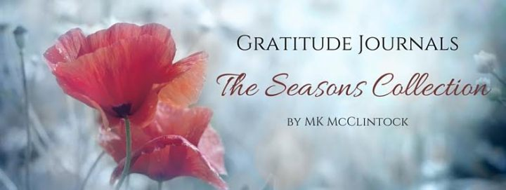 $50 #Giveaway Gratitude Journals by MK McClintock @MKMcClintock 5.2