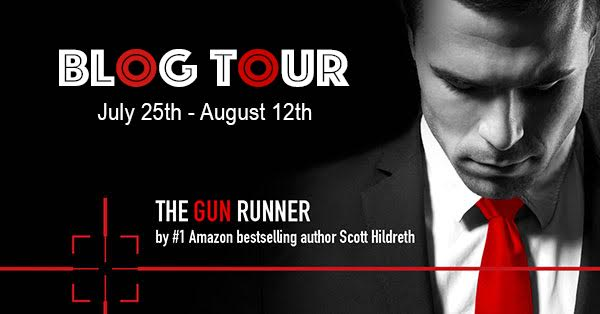 #Giveaway Guest Post THE GUN RUNNER by Scott Hildreth @ScottDHildreth @CarinaPress 8.12