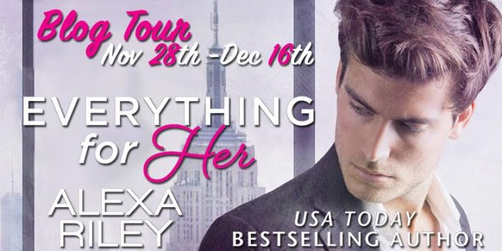 $75 #Giveaway Guest Post EVERYTHING FOR HER by Alexa Riley @_AlexaRiley @CarinaPress 12.17