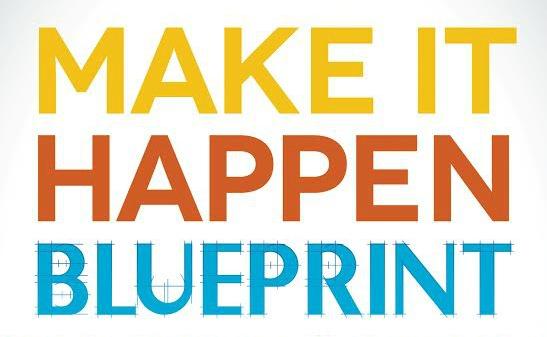 $50 #Giveaway The Make It Happen Blueprint by Michelle McCullough @speakmichelle 4.6