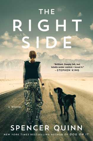 Review THE RIGHT SIDE by Spencer Quinn @AtriaBooks