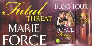 $25 #Giveaway Interview FATAL THREAT by Marie Force @MarieForce @CarinaPress 8.2