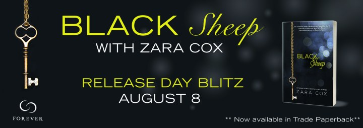 #Giveaway Excerpt BLACK SHEEP by Zara Cox @ZCoxBooks @ForeverRomance 8.17