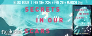 $50 #Giveaway Interview SECRETS IN OUR SCARS by Rebecca Trogner @RTrogner Ends 3.6