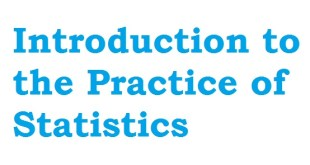 Introduction to the practice of statistics pdf.
