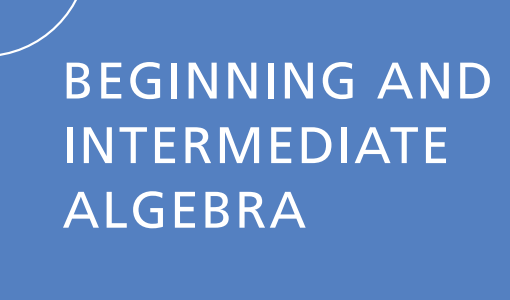 Beginning and Intermediate Algebra 5th edition pdf