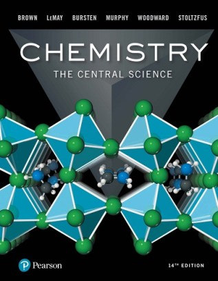 Chemistry the central science 14th edition pdf Book Cover.