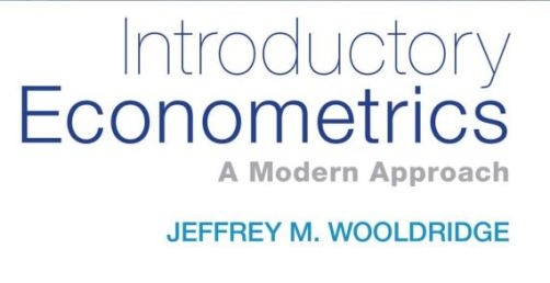 Introductory Econometrics A modern Approach 6th edition