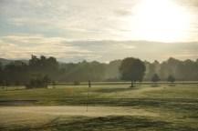 Vista dal campo dell'Arona Golf Club