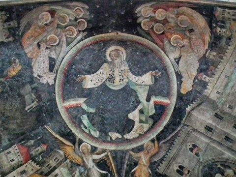 Saluzzo-Cuneo - Chiesa S Giovanni - affesco - bookingpiemonte