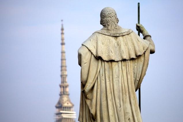 Torino magica Cabrio statua