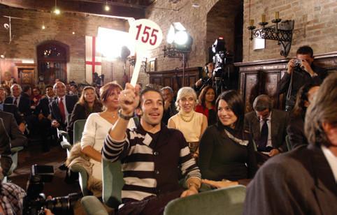 Alessandro Del Piero all'asta mondiale del Tartufo Bianco d'Alba - Booking Piemonte e Edizioni del Capricorno