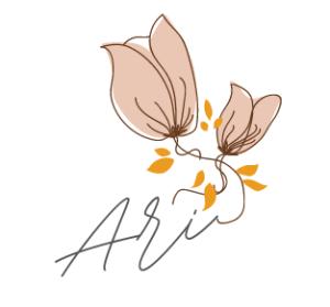 ari signature, created with Canva