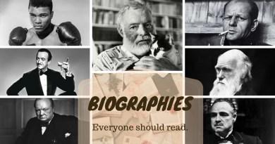Biography everyone should read | The Bookish Elf