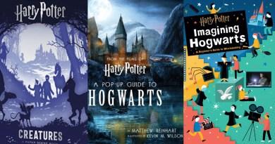 3 New Harry Potter Books