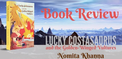 Book Review: Lucky Costasaurus and the Golden-Winged Vultures