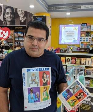 Ahmed Faiyaz author of Bestseller