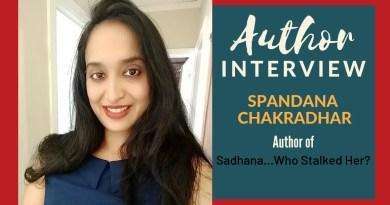 Author Interview - Spandana Chakradhar - 1