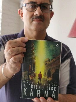 Author Interview: Madhav Thapar   The Author of A Friend  Like Karna and The Times We Live In