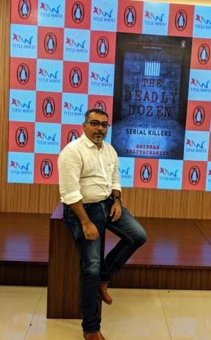 Anirban Bhattacharya The author of The Deadly Dozen
