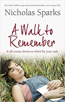 Book Review - A Walk to Remember by Nicholas Sparks