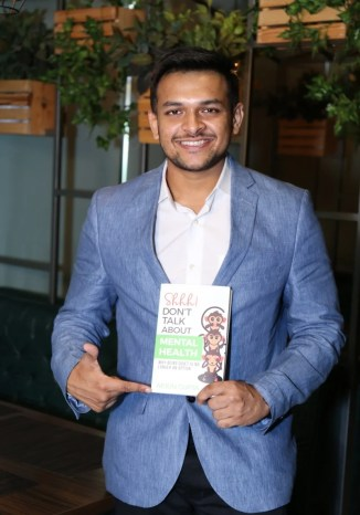 Author Interview - Arjun Gupta the author of shhh don't talk about mental health