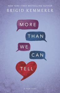 Cover of More Than We Can Tell by Brigid Kemmerer