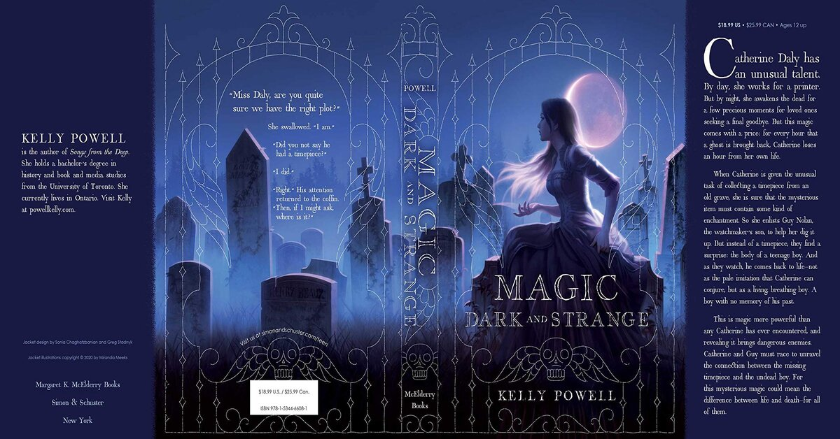 Magic Dark and Strange by Kelly Powell: Book Tour