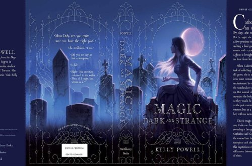 Magic Dark and Strange Dust Jacket