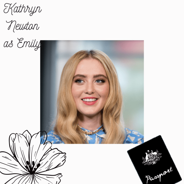 Kathryn Newton as Emily fancast