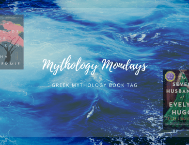 Greek Mythology Book Tag 2021