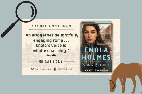 Enola Holmes and the Black Barouche Tour Banner