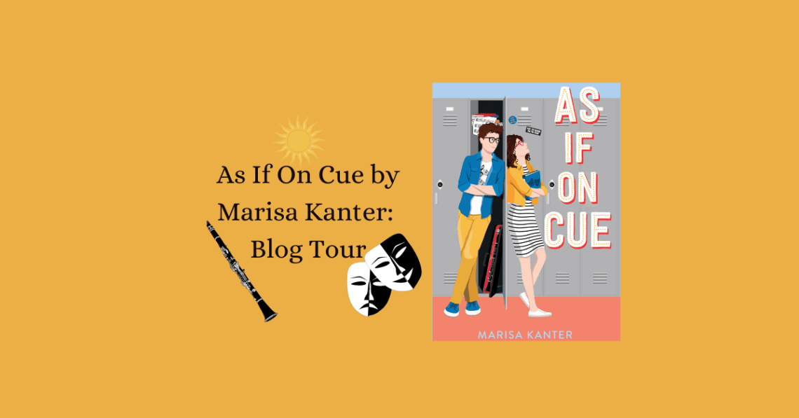 As If On Cue Blog Tour Banner