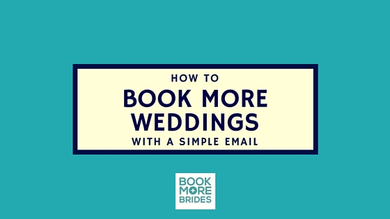 Book Weddings With Email