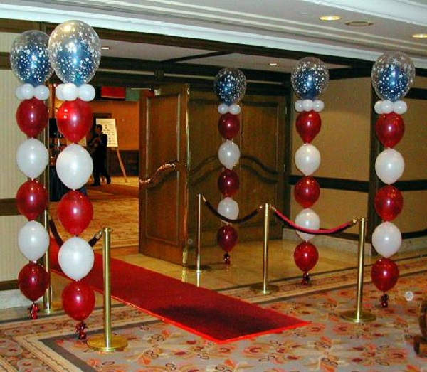 How To Make Balloon Columns