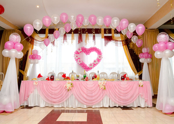 Blast your wedding occasion with these balloon decorating ideas